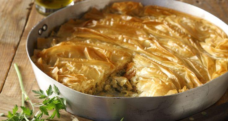 Pie with turkey