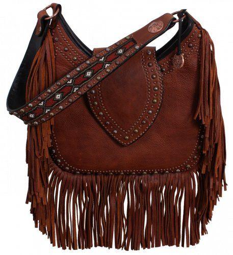 Brandy Pull-Up Hobo Bag by Double J Saddlery