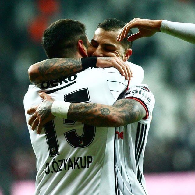 Oguzhan Ozyakup and Ricardo Quaresma