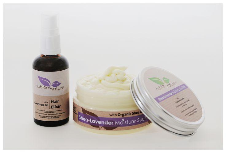 Hair Elixir & Shea-Lavender Moisture Soufflé Combo