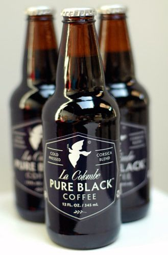 My new fav. La Colombe Touts a Summery Take on Coffee Bottled Pure Black coffee is a new favorite?whether iced or in a cocktail.