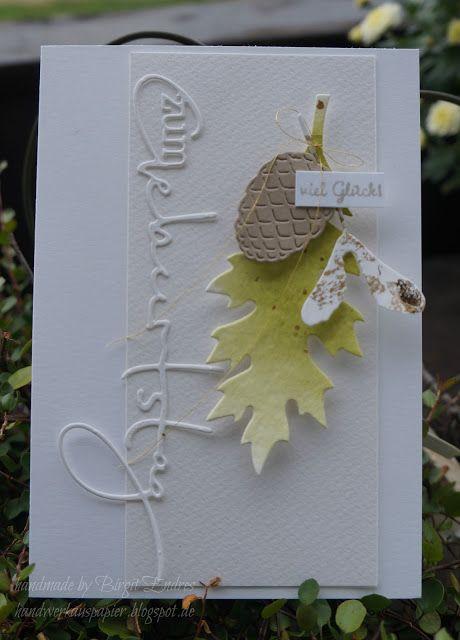 HandWerk aus Papier: Herbst #2