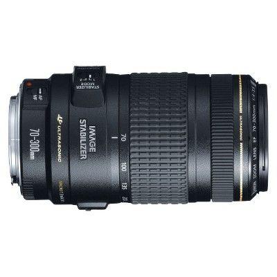 Canon EF 70-300mm f/4 - 5.6 IS Usm Telephoto Zoom Lens - Black (0345B002)