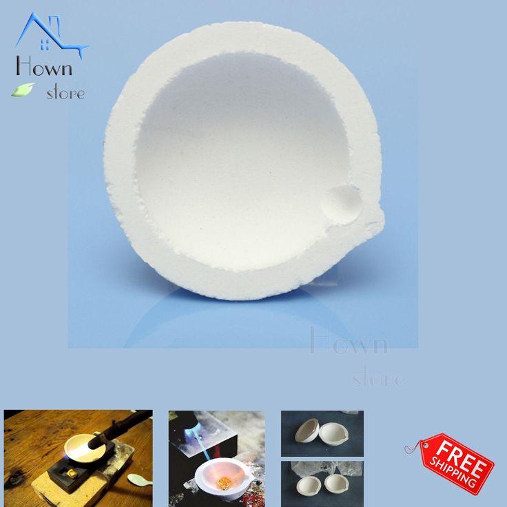 Hown Store: Dish Melting Crucible Ceramic Cup Melt Metal Gold ...