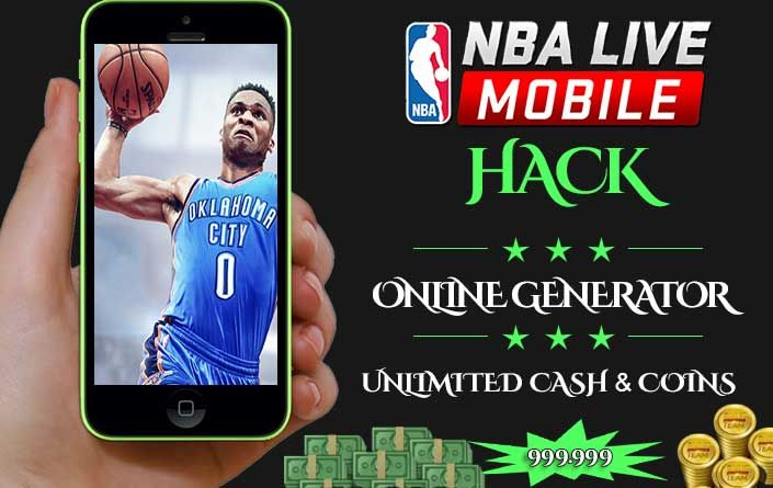 Nba Live Mobile Cheat Get 999k Cash And Coins Android Ios Nbalivehack Nbalivecheat