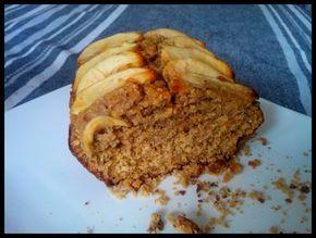Le gâteau au son d'avoine et farine d'épeautre…