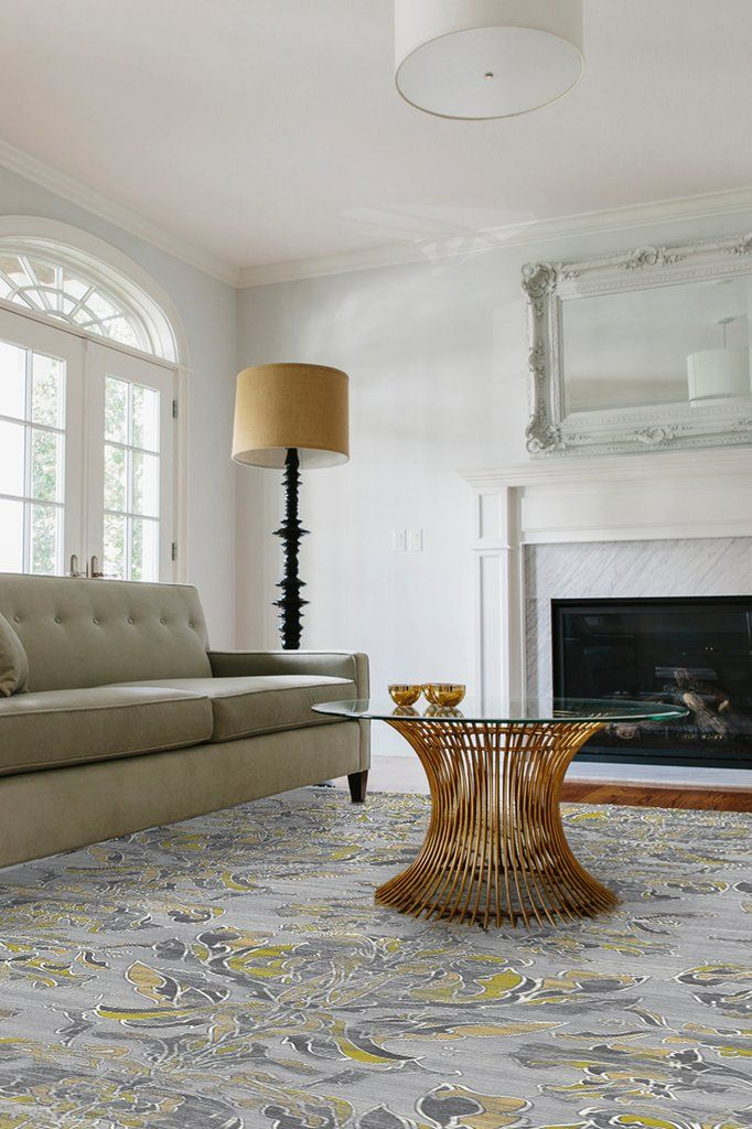 Transitional Damask Grey in 2018 Reno Pinterest Rugs, Room and