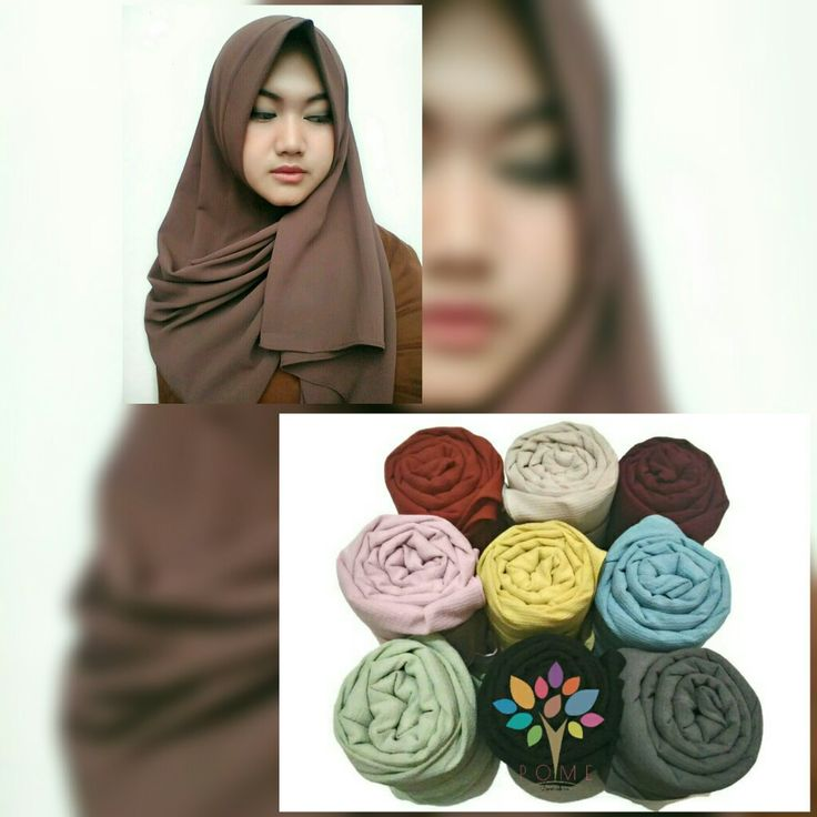Khadijah instant scarf by Pome 😍😍😍😍 are available now... limited. Visit our Instagram @hijapome xoxo