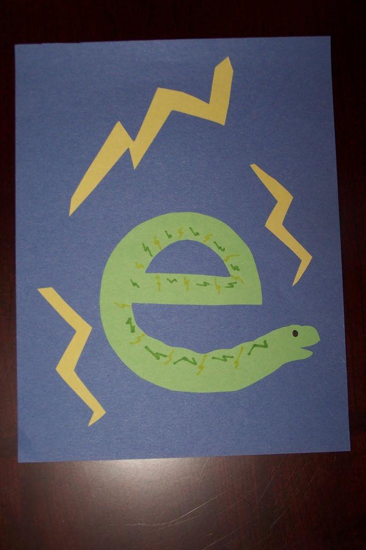 16 best Alphabet Letter E Crafts images on Pinterest