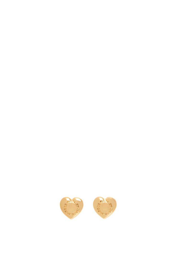 Örhänge Domed Logo Heart Studs GOLD - Marc by Marc Jacobs - Designers - Raglady