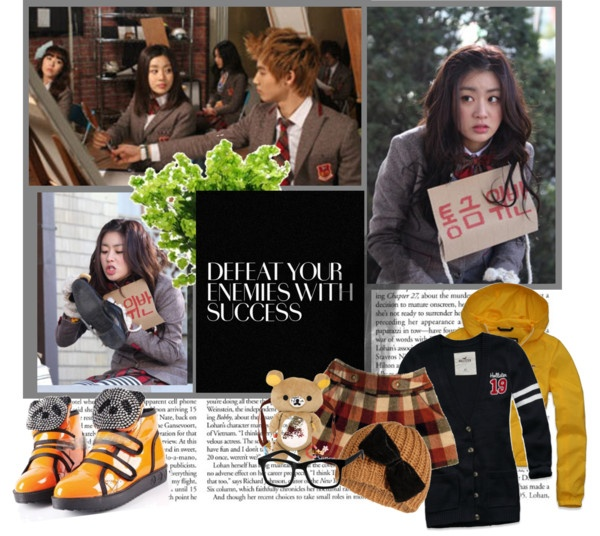 """""""Kang Sora from Dream High 2"""" by peachgirl100 ❤ liked on Polyvore"""