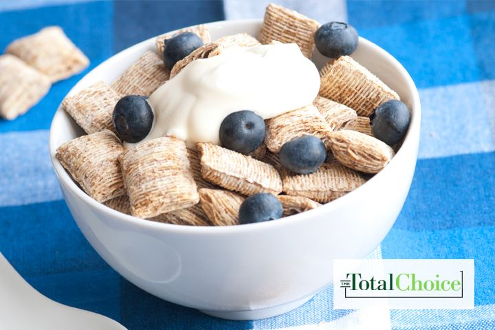 The fiber in this breakfast will fill you up by the spoonful. Enjoy this recipe on the Total Choice 1200-calorie plan.