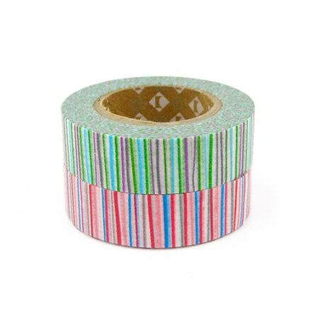Washi tape makes wrapping presents sweeter