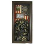 For Tyler's Army Room. Army Shadow Box. Hobby Lobby.