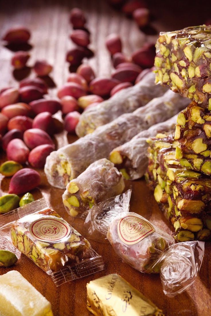 Levantine/Syrian Candies by Ghraoui Sweets | Middle ...