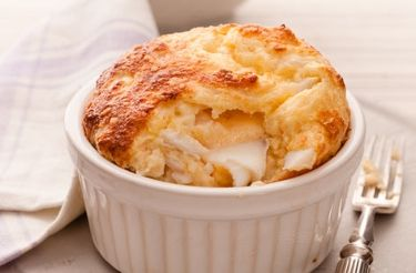 Smoked haddock soufflé recipe