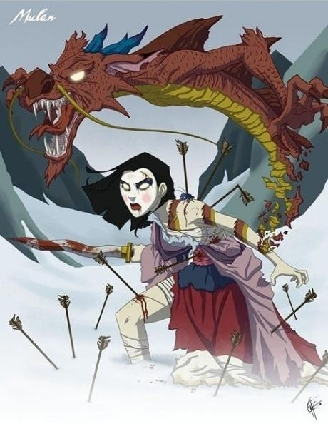 Twisted Princess: Mulan