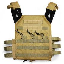 JPC Plate Carrier Tactical Vest in Tan
