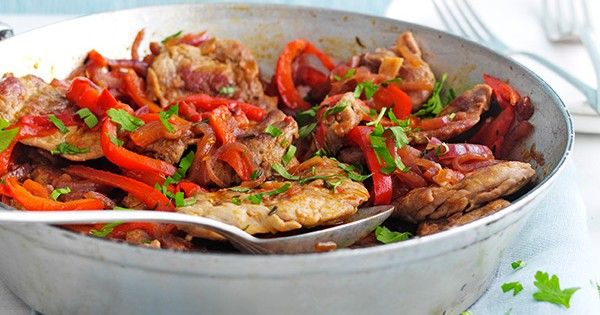 This recipe for pork fillet with pepper stew is easy to make and ready in under an hour and 5:2 diet friendly, but is packed full of flavour