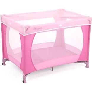 Berço Dobrável Portátil Burigotto Angel Pink.    Acompanha bolsa para transporte.    Fácil de montar e desmontar, excelente para viagen.