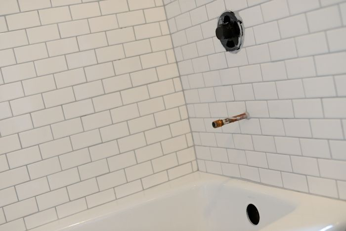 15 Best Images About White Subway Tile Grey Grout On