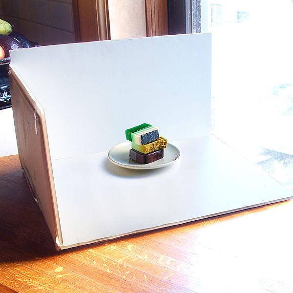 Creating A White Background Inside A Cardboard Box