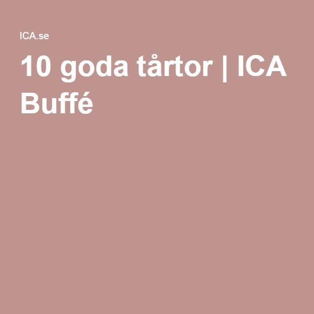 10 goda tårtor | ICA Buffé