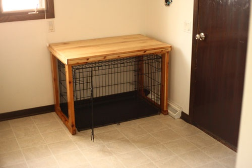The Dog Cage Table