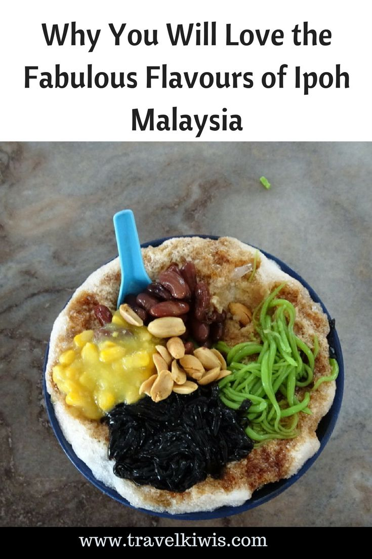 Ipoh is famous for its flavours. If you are looking to experience food, culture and somewhere away from the tourist crowd, then Ipoh is your place.
