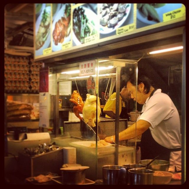 You had me at delicious-looking-animals-hanging-in-the-window. #Singapore | Flickr - Photo Sharing!