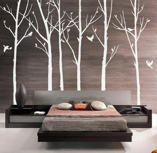 Ein Beispiel für Wandgestaltung - Verblüffende Wandgestaltung Ideen für Ihr Zuhause