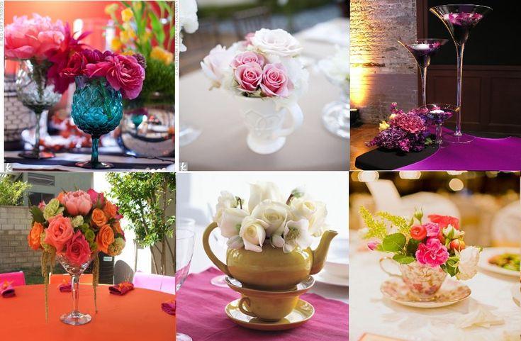 Les 25 meilleures id es de la cat gorie mariage de bollywood sur pinterest - Fleur centre de table ...