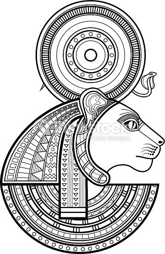 21 best goddess sekhmet images on pinterest egyptian goddess ancient egypt and deities. Black Bedroom Furniture Sets. Home Design Ideas