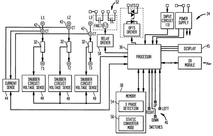 Motor Diagram Three Phase Starter Wiring At 3 Start Stop ...