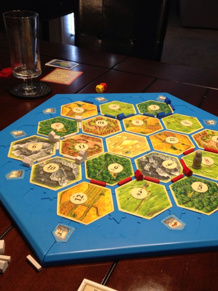 Catanboards to hold your Settlers of Catan tiles, ports