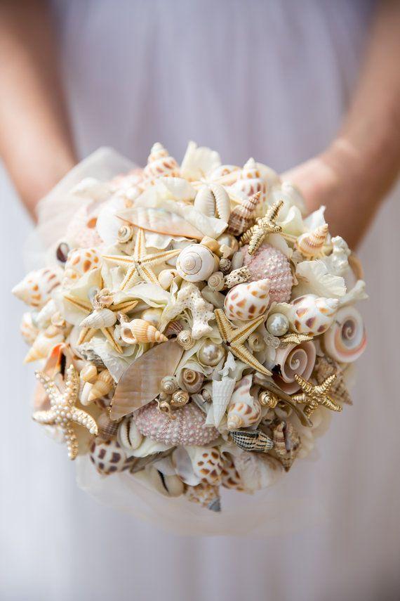 Un bouquet de coquillage en vente sur Etsy