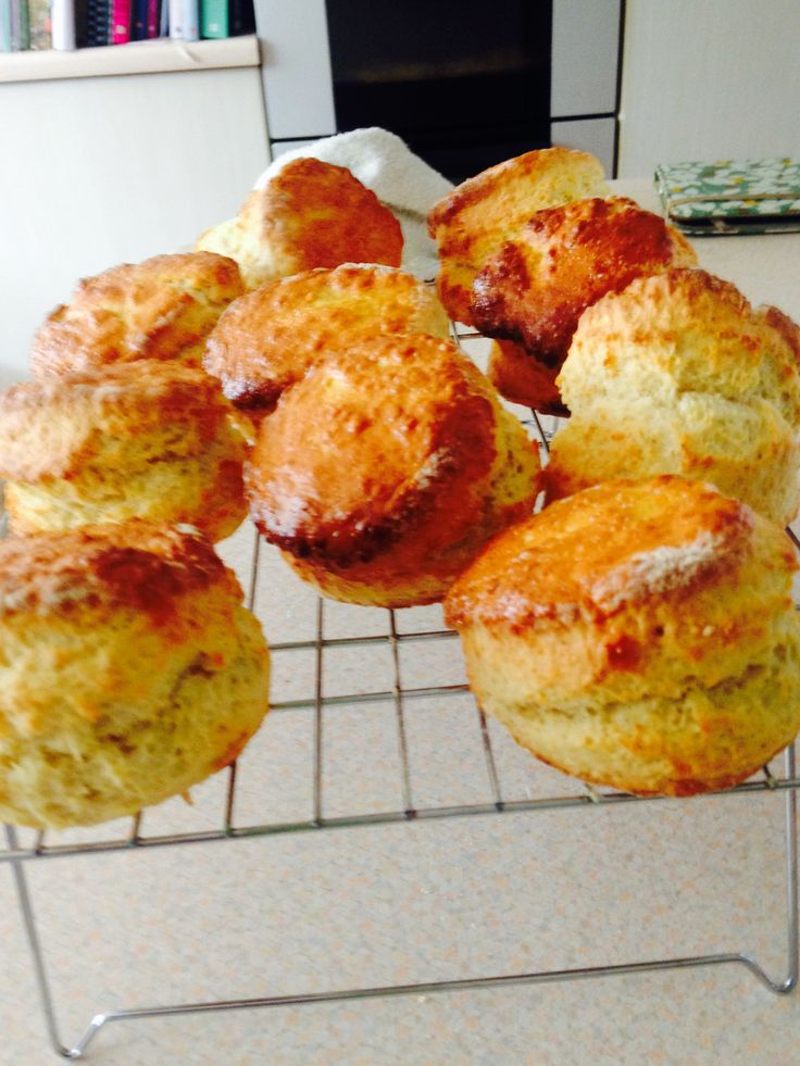 Scones from Paul Hollywood's recipe