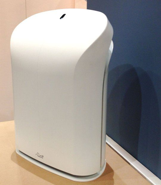 Air purifier to get rid of the cat dander. Rabbit Air BioGS 2.0 HEPA Air Purifier at Dwell on Design 2013