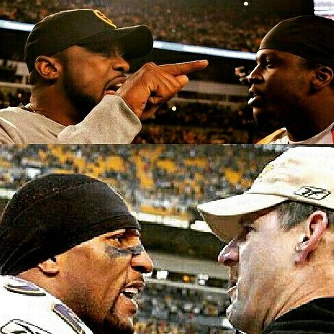Mike Tomlin vs Reggie Nelson Bill Cowher vs Ray Lewis
