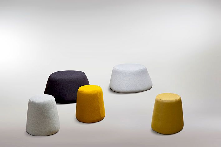 Softscape Stools by Helen Kontouris for LEN. Available from Stylecraft.com.au