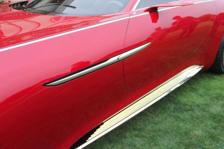 Vision Mercedes-Maybach 6 door handle