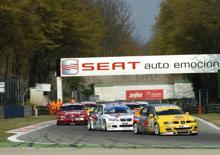 Frank Diefenbacher. SEAT Toledo ETCC. European Touring Car Championship. Monza 2004