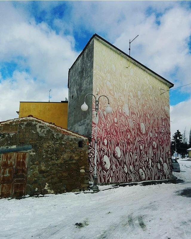 "TELLAS  .. '""In the heart of Irpinia"" .. for Boca Contest Art ..  [Bonito, Italy 2016] (winter shot)"