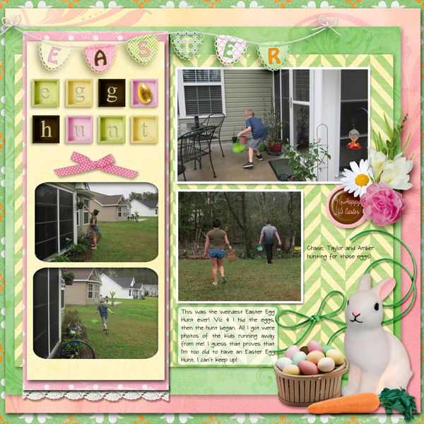 Easter Egg Hunt by Betsyfru. Kit: Easter Bunny What Did You Bring Me? by AA Designs http://scrapbird.com/designers-c-73/a-c-c-73_514/aadesigns-c-73_514_395/easter-bunny-what-did-you-bring-me-by-aadesigns-p-13601.html