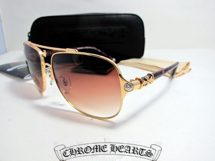 2e71677f4d3 Chrome Hearts Sunglasses Bone Polishr SRE 2012 Gold.