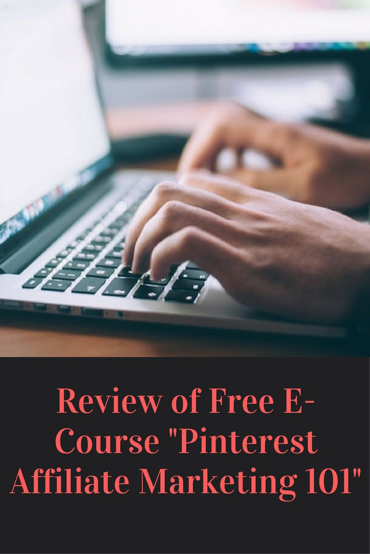 """Review of Free E-Course """"Pinterest Affiliate Marketing 101"""" By: Christina Root"""