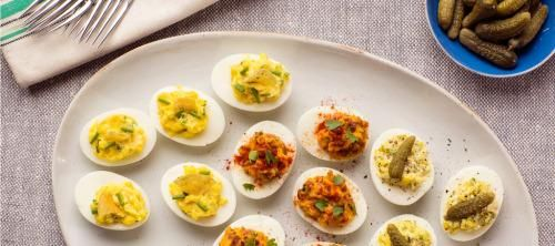 1000+ ideas about Easter Deviled Eggs on Pinterest | Colored eggs ...