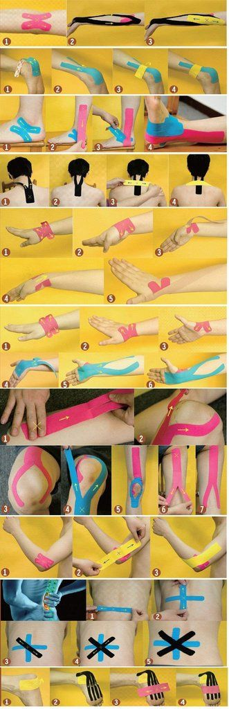 Sport Running Kinesio Physio Therapeutic Muscle Tape-KaboodleWorld
