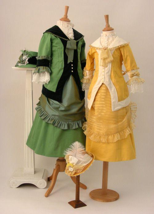 1880 Archery Costumes. (Ironbridge Gorge Museum)