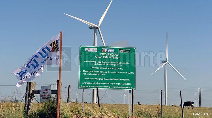 Uruguay alcanzó mil megavatios de energía eólica y UTE calificó el hecho como histórico - Diario NORTE